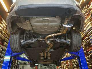 Civic FC 1.5 Turbo custom exhaust system