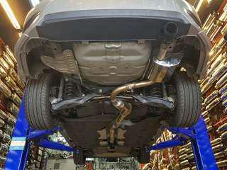 Civic FC 1.5 Turbo custom exhaust system