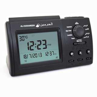 Azan Table Clock in Black (New Instock!)