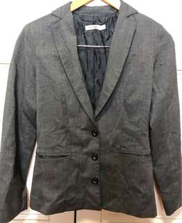 LADIES GREY WORK/FORMAL BLAZER