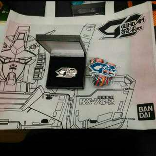 Limited Edition BANDAI Gundam Docks At Singapore Premiums