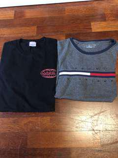 Size L shirts for sale