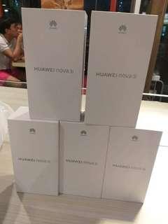 FORSALE BRANDNEW HUAWEI NOVA 3i OPENLINE