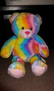 Collectable BAB Rainbow bear ❤💜💛💚💙
