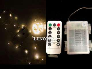 10M Fairy Lights Battery Box w/ Remote Control