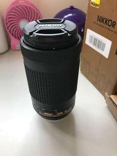 99%New Nikon AF-P DX 70-300mm f/4.5-6.3G ED VR Lens