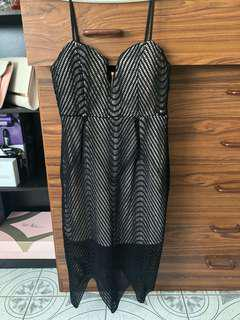 Net Pencil Dress