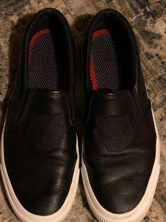 Black Kenzo slip on shoes size 9 men's