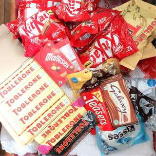 IMPORTED CHOCOLATES FOR SALE