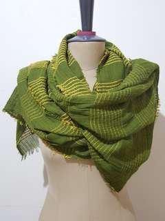 Liana pashmina green