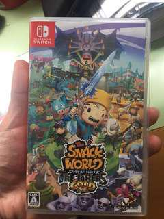 Switch game snack world