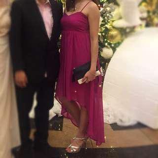 Semi formal flowy dress