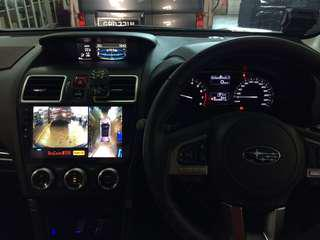 Subaru Forester👉2018 Installed Super HD Night Vision 360 All View Camera 3D