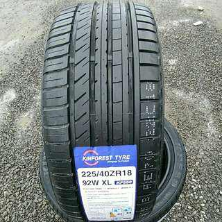 Tyre 225/40 R18 Kinforest 🙋‍♂️ The price shown is estimated