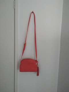 Forever new coral bag