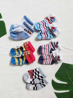newborn socks set of 5