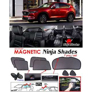 Mazda CX5 2017 - 2018 Magnetic Ninja Sun Shade (7pcs/set) Premium Quality