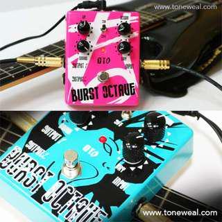 GT0 guitar effect pedal - Burst actave