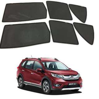 Honda BRV Foldable Magnet Sunshade - 6 pcs