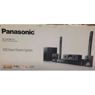 Panasonic DVD Home Theater SC-XH166, Sealed in box, Black colour (Home Theatre)