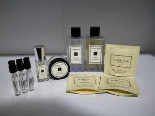 jo malone miniatures and samples