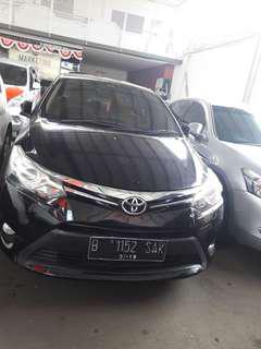 Toyota Vios G 2014 matik Hitam Dp 9jt saja Hub 081288607373