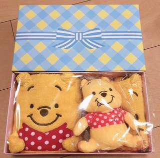 Winnie the pooh 嬰兒 bb 禮盒 (代購貨)
