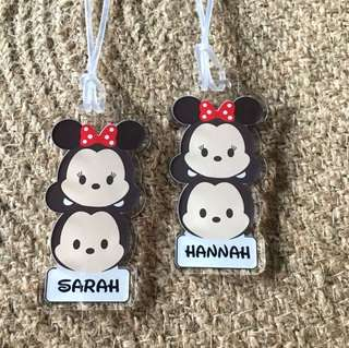 🚚 Tsum Tsum Minnie Bag Tag