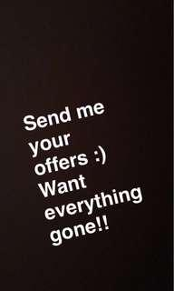 Send me your offers:)