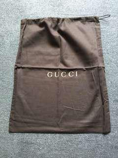 Gucci drawstring bag