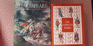 Shakespear books for sale