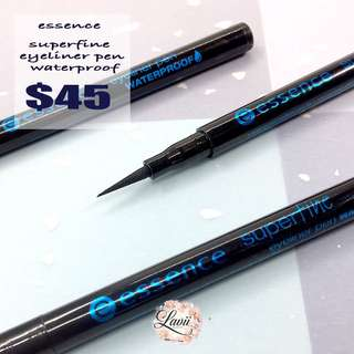 💦 Essence Superfine eyeliner pen Waterproof .