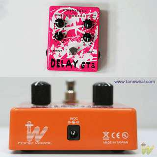 GT3 guitar effect pedal - Delay