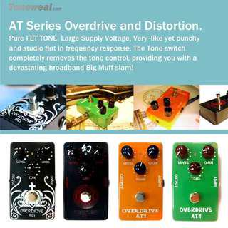 AT1 guitar effect pedal - overdrive