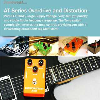 AT2 guitar effect pedal - Distortion