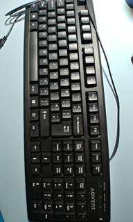 USB Keyboard UK United Kingdom Britain