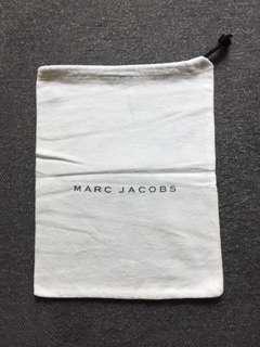 Marc Jacobs white drawstring bag