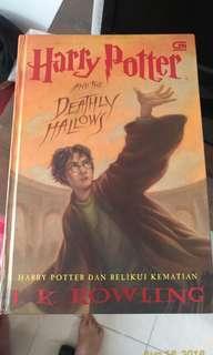 Seri Harry Potter bahasa Indonesia Original