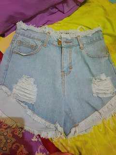 Short pant / highwaist / celana pendek