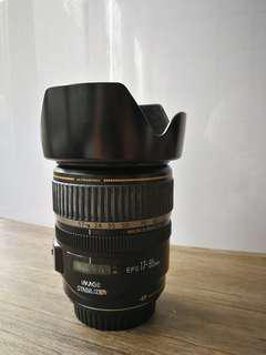 ORIGINAL CANON EF-S  IS 17-85mm lens