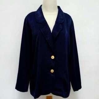 Blazer biru gelap/navy