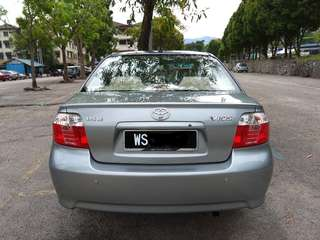 TOYOTA VIOS 1.5 (A) FACELIFT NEW TYRE LOW MILEAGE MALAY CIKGU OWNER