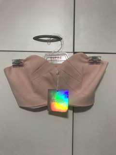 Missguided pink crop