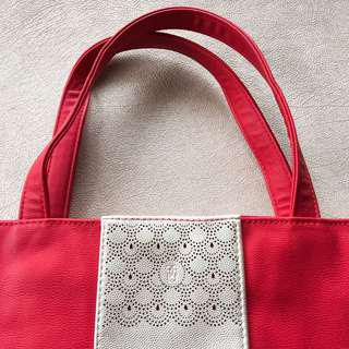 Guerlain Faux Leather Tote Bag