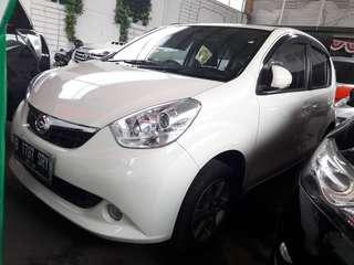 Daihatsu Sirion m 2013 manual putih Dp 15 juta saja Hub081288607373
