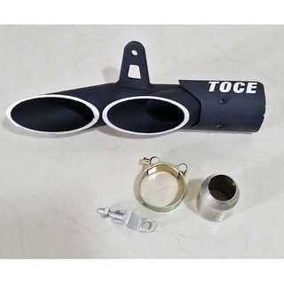 Toce Muffler Exhaust Racing 51mm Universal Ekzos Motorcycle