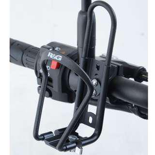 R&G Adjustable Motorcycle Scooter Ebike EScoot Bottle Cage