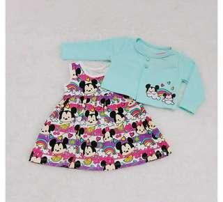 Baby girl dress 2in1