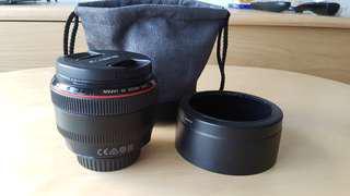 Canon 50mm F1.2 L USM