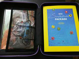 BTS 2018 summer package full set no guide book